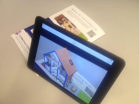 Augmented reality van de HSC concepten